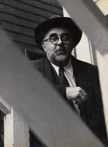 Charles Olson, San Francisco, ca. 1956. Photograph by Harry Redl.